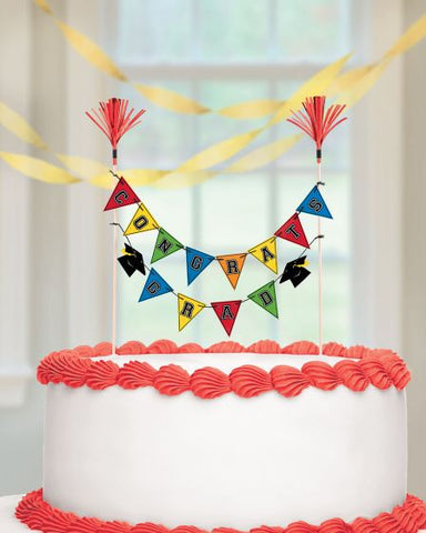Grad Multi Color Cake Pick