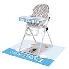 HIGH CHAIR KIT 6/1CT 1ST BDAY BEAR [336640]