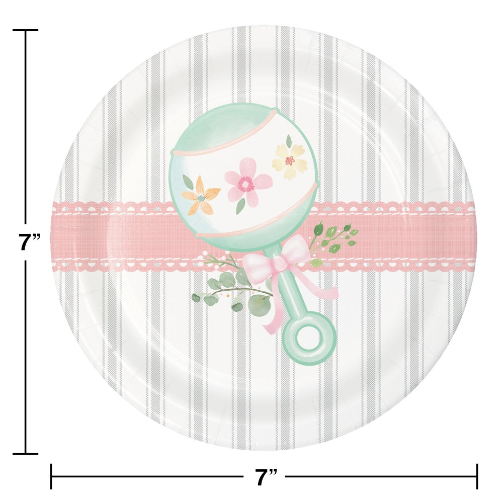 PLT7 SS 12/8CT FARMHOUSE FLORAL BABY