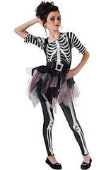 Costumes: Kids (1-13): Skelee Ballerina