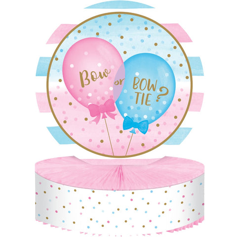 Centerpiece Hc Shaped Cp Hc 6/1Ct Gender Reveal Balloons