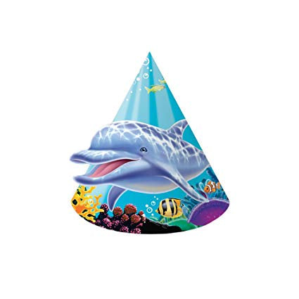 HAT 6/8CT CHILD OCEAN PARTY [205325]