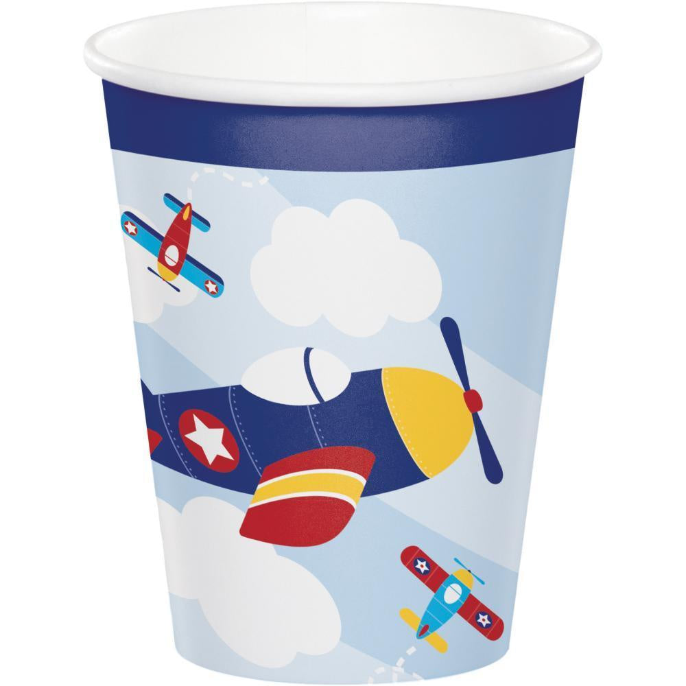 9CUP 12/8CT LIL' FLYER AIRPLAN [331510]
