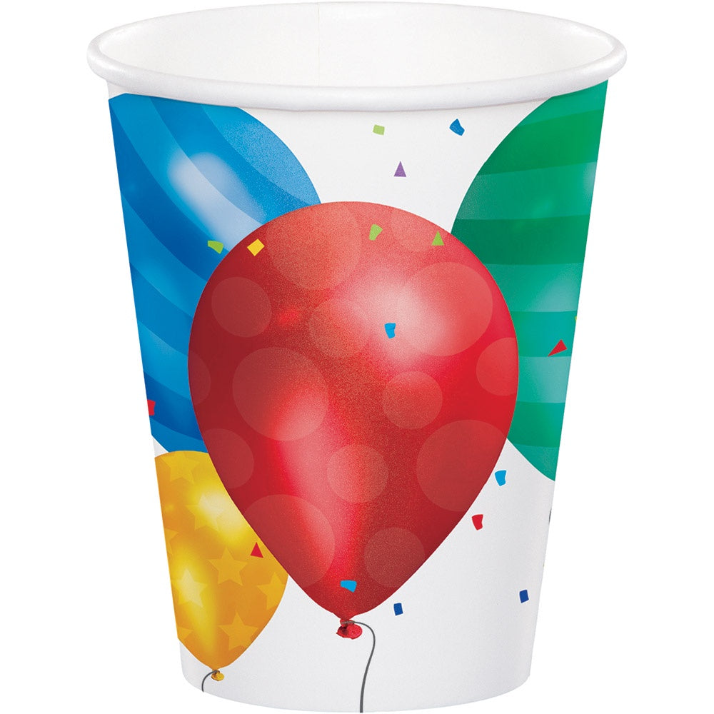 9CUP 12/8CT BALLOON BLAST