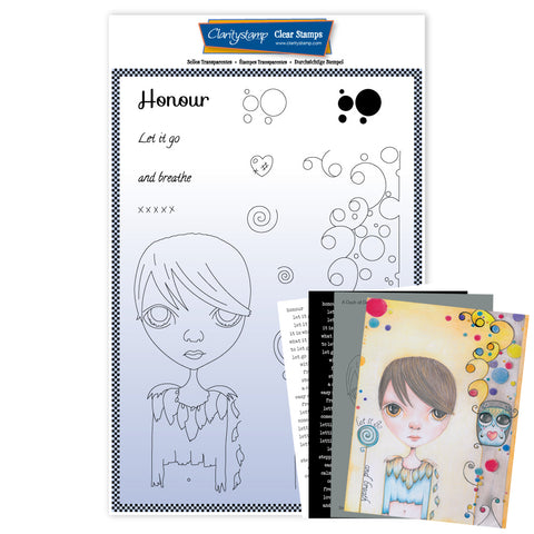 Dee's New Friends - Honour <br/> A4 Unmounted Stamp Set <br/> (PRE-ORDER)
