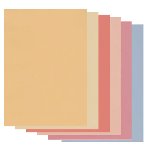 Groovi® A4 Coloured Parchment Paper - Soft Tones Collection