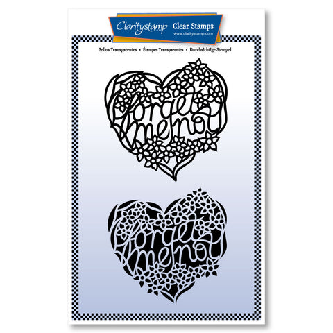 Forget Me Not <br/> Two-way Overlay Unmounted Stamp Set <br/> (PRE-ORDER)