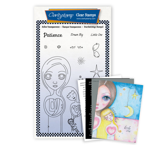 Dee's New Friends - Patience <br/> A6 Unmounted Stamp Set <br/> (PRE-ORDER)