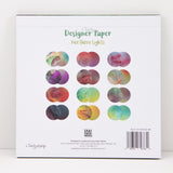 Northern Lights - Natural Wonders Collection - 8x8 Designer Paper Pad