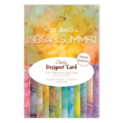 Clarity Designer Card Petite Edition: Indian Summer