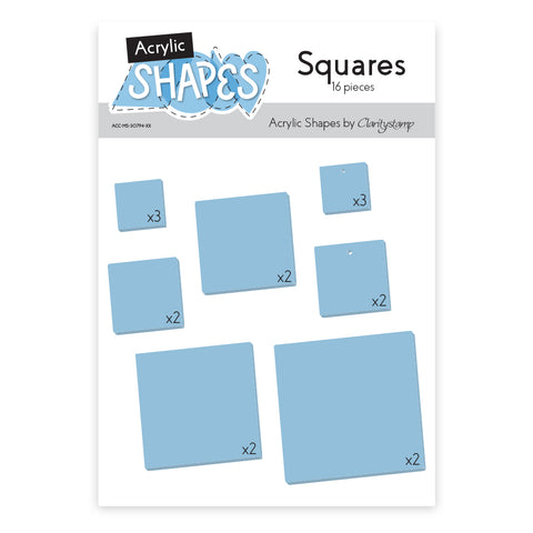 Acrylic Shapes - Squares