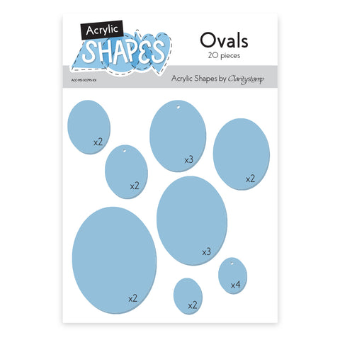 Acrylic Shapes - Ovals