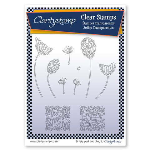 Dandelion <br/> Unmounted Clear Stamp