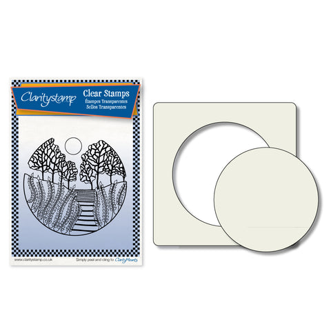 Carmel Stamp & Stencil Set