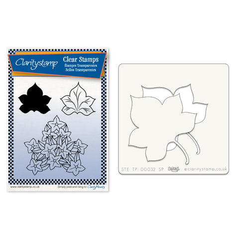 Maple Leaf 2 Stamp and Stencil Set