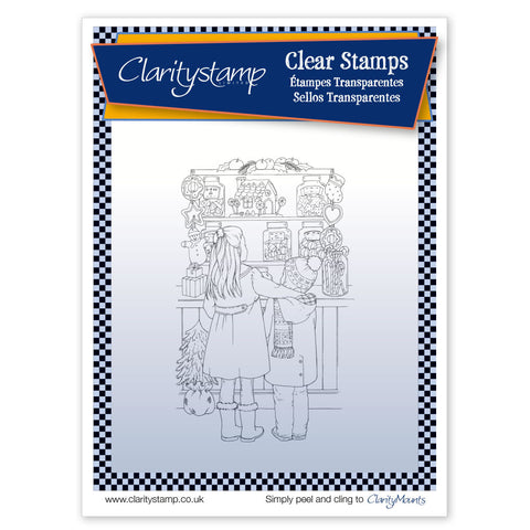 Jayne's Sweet Shop  <br/> Unmounted Clear Stamp