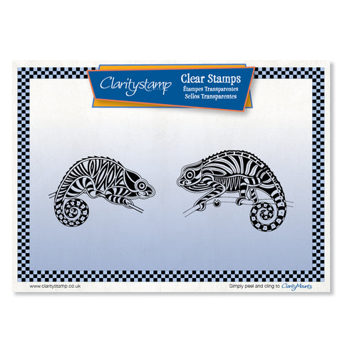 Chameleons <br/> A5 Unmounted Stamp Set
