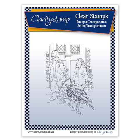 Jayne's Sled <br/> Unmounted Clear Stamp