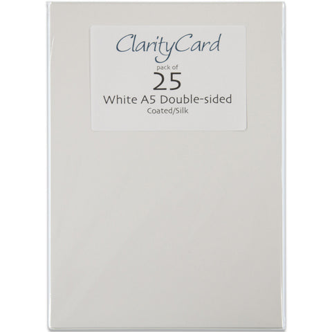 Clarity Card A5 (Pack of 25)