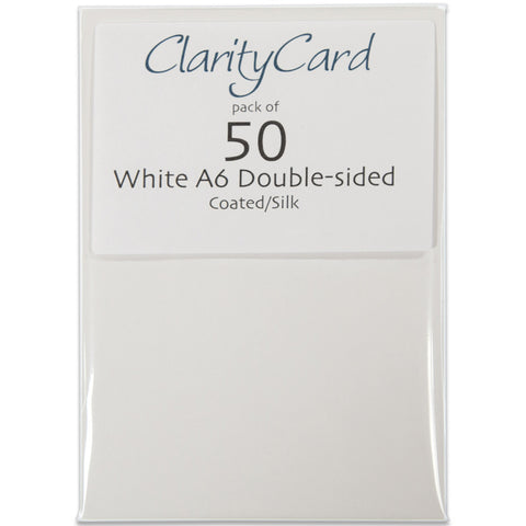 Clarity Card A6 (Pack of 50)