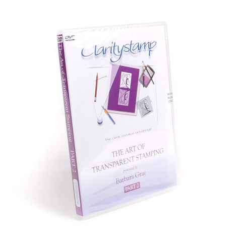 The Art Of Transparent Stamping No. 2 DVD