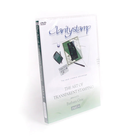 The Art Of Transparent Stamping No. 4 DVD