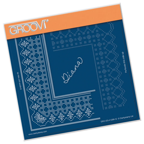 Princess Diana Grid Duet <br/> A5 Square Groovi Plate