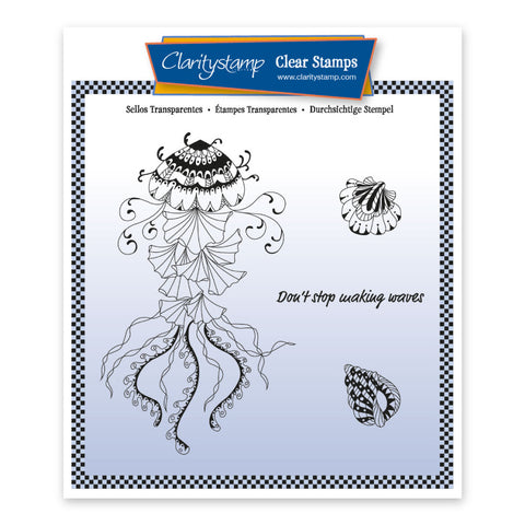 Cherry's Under The Sea - Jellyfish <br/> Unmounted Stamp Set