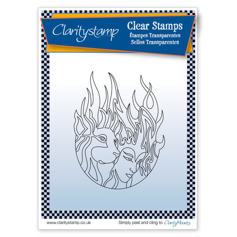 Fire Elements <br/> Unmounted Clear Stamp Set