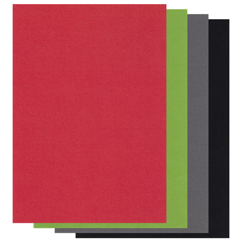 Groovi® A4 Coloured Parchment Paper - Seasonal Mixed Pack (20 Sheets)