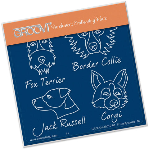 Kennel Club - Dog Breeds Groovi® Baby Plate A6