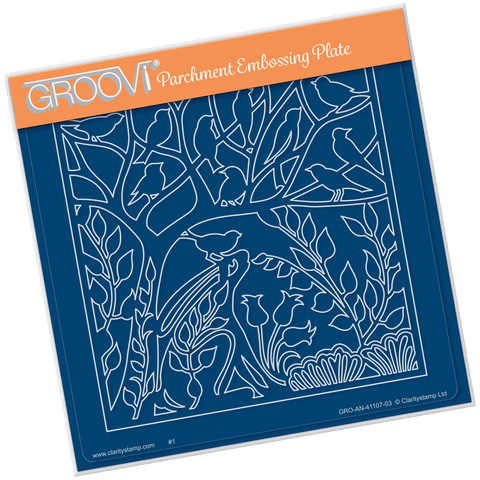 Hare in the Glade <br/> A5 Square Groovi Plate