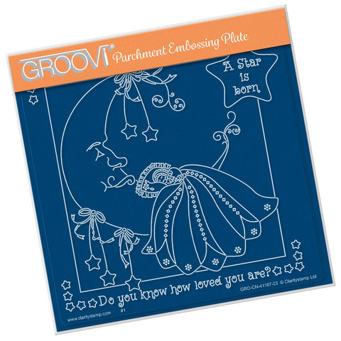 Linda's A Star is Born <br/> A5 Square Groovi Plate <br/> (PRE-ORDER)