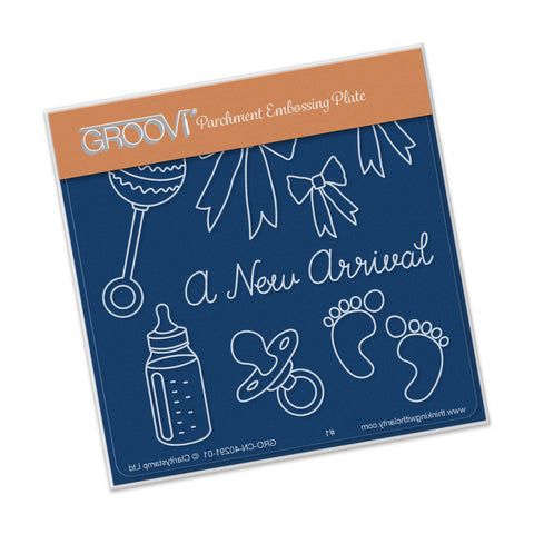 A New Arrival Groovi® Baby Plate A6
