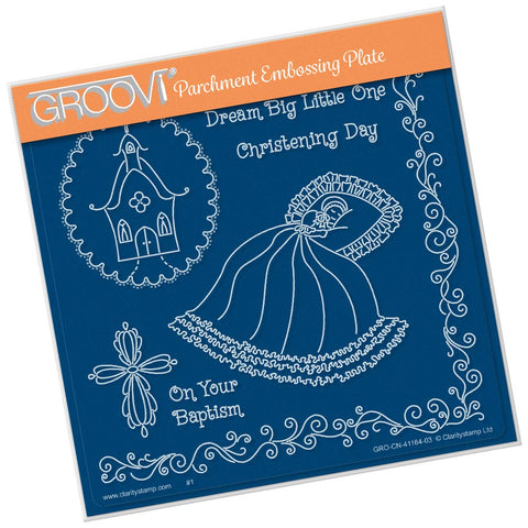 Linda's Dream Big Little One <br/> A5 Square Groovi Plate