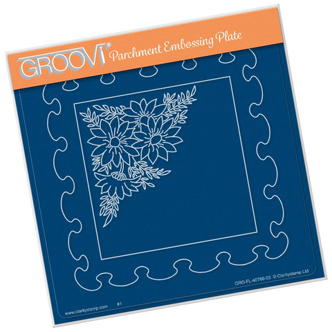 Frilly Squares (PRE-ORDER) <br/> A5 Square Groovi Plate