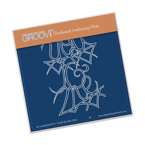 You & Me Groovi® Baby Plate A6