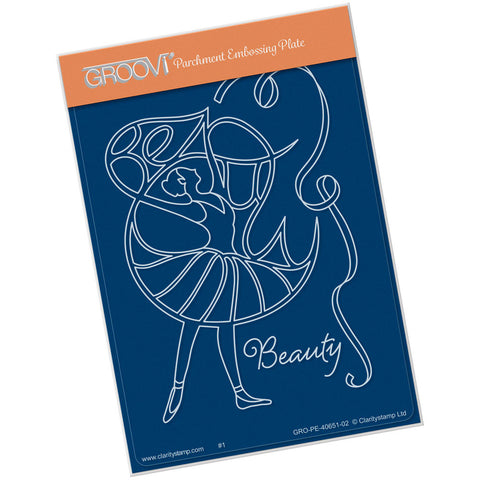 Beauty Dancer <br/> A6 Groovi® Plate