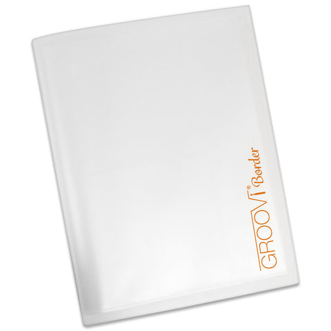 Groovi® A4 Border Plate Storage Folder