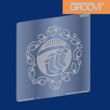 Christmas Stockings Groovi® Plate A5