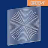Shapes - Nested Circles Groovi® Plate A5