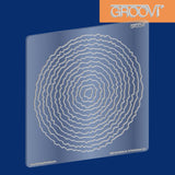 Shapes - Deckle Circles Groovi® Plate A5
