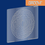 Shapes - Deckle Ovals Groovi® Plate A5