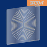 Shapes - Nested Ovals Groovi® Plate A5