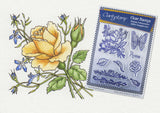 Jayne Nestorenko Floral Collection - Roses Unmounted A5 Stamp Set