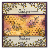 Oak Leaf 4 Stamp and Stencil Set