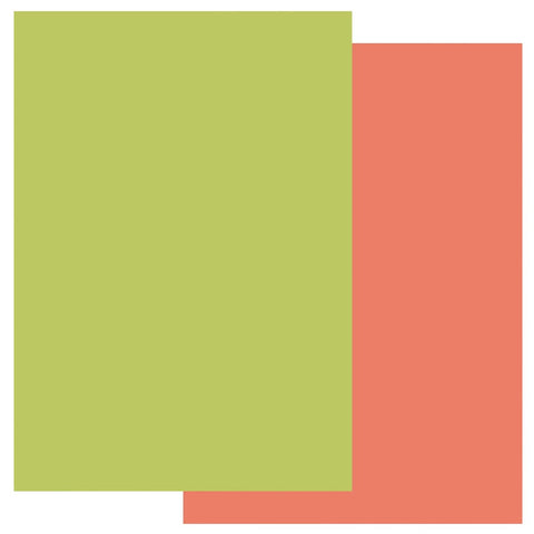 Orange Squash & Lime Twist Groovi® Two Tone A4 Coloured Parchment Paper (10 Sheets)