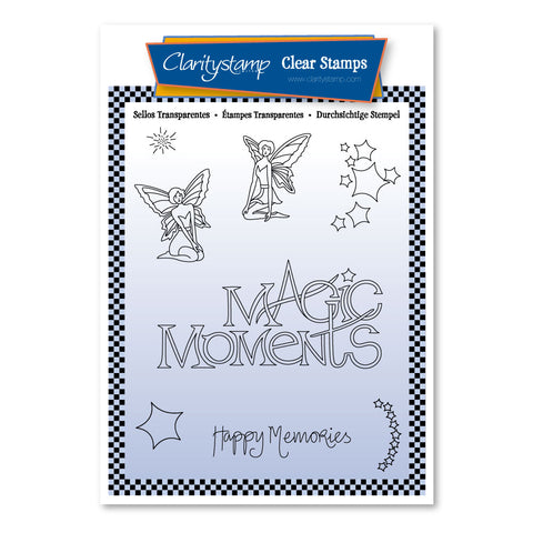Mel's Magic Moments <br/> A6 Unmounted Stamp Set <br/>(PRE-ORDER)