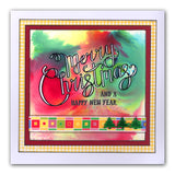 Merry Christmas & Happy New Year Sentiments Stamp Set