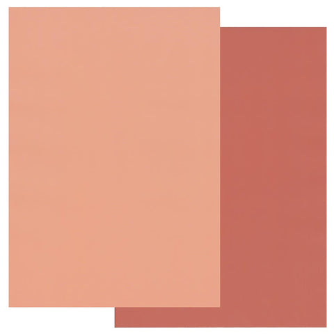 Peach & Nutmeg Groovi® Two Tone A4 Coloured Parchment Paper (10 Sheets)
